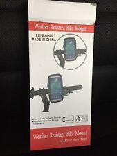 Weather Resistant Smart Phone Bike Mount - NEW!