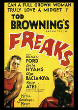 Tod Browning's Freaks RIPRODUZIONE POSTER PORTA