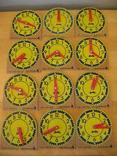 Lot of 12 JUDY / INSTRUCTO Mini-Clocks #209041