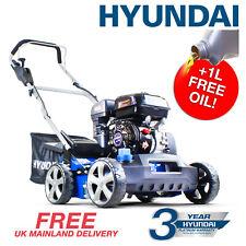 Petrol Scarifier Lawn Aerator Scarifier Raker Machine 210cc 2in1 HYUNDAI
