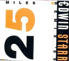 EDWIN STARR - Twenty-five miles ('89 REMIX) 4TR CDM 1989 BREAKS / SOUL