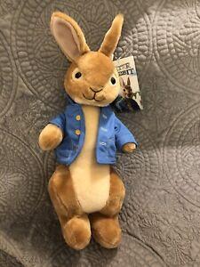 "Peter Rabbit Plush 15"" NWT Toy Factory"