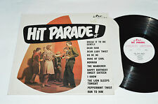 HIT PARADE! The Teen Beats 1960s Compilation LP Mono HP-8 Arc Records VG/VG+