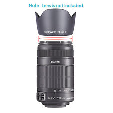 ET-60 II Lens Hood for Canon EF75-300MM F/4-5.6 III EF-S 55-250MM F/4-5.6