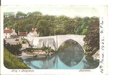 LOVLEY VERY OLD VINTAGE POSTCARD,BRIG O BALGOWNIE,ABERDEEN,1903