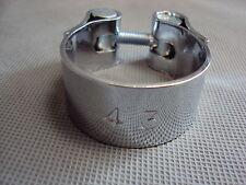 Auspuff-Schelle Chrom 43 mm Spannbereich 40-43mm Motorrad Roller PKW