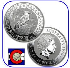 2015 Australia Kookaburra 10 oz. Silver Coin - BU direct from Perth Mint
