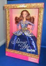 Wal-Mart Special Edition Portrait in Blau Sammler Barbie Puppe , NRFB