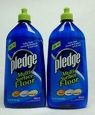 2 Pledge Multi Surface Floor Cleaner Safely Cleans Wood Ceramic Linoleum/Vinyl