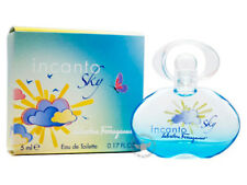 100% Authentic Perfume Mini~ Salvatore Ferragamo Incanto SKY 5ml Edt