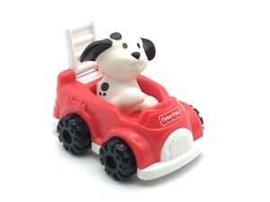 McDonald's Fisher Price Toddler Toys Dalmatian Firetruck Under 3 1997 Happy Meal