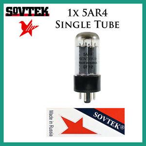 New 1x Sovtek 5AR4 / GZ34 / 5U4 | One / Single Rectifier Tube | Free Ship