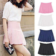Women High Waist Comfortable Slim Mini Pleated Tennis Short Skirts Dress Playful