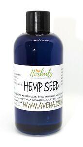 Hemp Seed Oil Cold Pressed 100ml - Omega-6 Omega-3 - Hair Skin - Repair Cells
