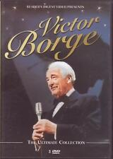 3 DVD SET - VICTOR BORGE - THE ULTIMATE COLLECTION Comedy Then Now Birthday Best