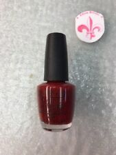 Opi Nail Polish Mariah Carey All I Want for Christmas is Opi E06 Red Color
