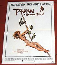 Cinéma. Affiche 40 x 60. Tarzan l'Homme singe. BO DERECK, Richard HARRIS. 1982