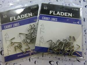 20 FLADEN CANNY LINK ROTTEN BOTTOM FOR SEA BEACH BOAT FISHING RIGS