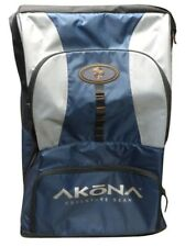 Akona Roller Bag Scuba Diving Gear Rolling Duffle Telescoping Handle Fin Pockets