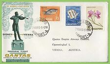 Aviation Cover Asian Stamps