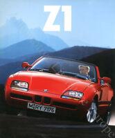1989 BMW Z1 ROADSTER PROSPEKT BROCHURE CATALOGUE DEPLIANT DEUTSCH