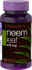 Piping Rock Neem Leaf 475 mg 100 Quick Release Capsules