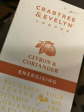 Crabtree & Evelyn Citron Coriander Energising Hand Therapy 3.45 oz New