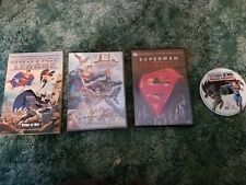 New listing Justice League: Trapped In Time / Doomsday/ Public Enemies dvd Wings of war book