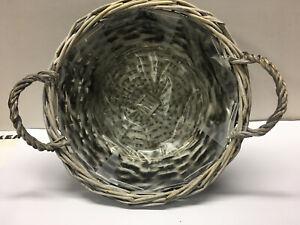 Coloured Woven Decorative Baskets NEW Hamper basket