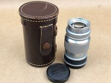 Leica Leitz Elmar 9cm 90mm F/4 Screw Mount Lens M39 LTM - Very Clean