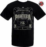 AUTHENTIC PANTERA 101 PROOF MUSIC ROCK BAND SHIRT S M L XL 2XL
