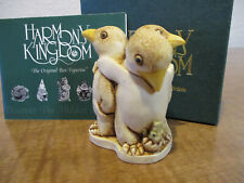Harmony Kingdom Unexpected Arrival Penguins Uk Made Box Figurine Sgn