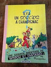 il y a un sorcier à champignac 1966 franquin dos rond rose pale côte BDM 100e