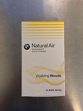 BMW NATURAL AIR CARE FRESHENER Vitalizing Woods Refill Sticks
