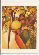 Vintage Postcard Post Card Continental Indianer 1922 August Macke ac33