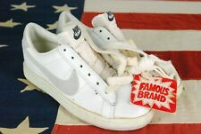 Nwt Vintage 80s Nike Tennis Shoes Sneakers White 1985 Size 6 Deadstock