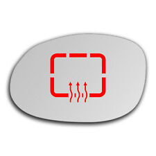Left Side Clip On Heated Mirror Glass for Chrysler 300M 1999 - 2004 0448LSHP