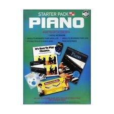 LEARN PIANO -  PIANO STARTER PACK DVD CD BOOKS METRONOME & NOTE FINDER !