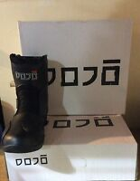 Short Ankle Motorcycle Boots Leather WP Motorbike/Scooter Armoured Shoes - DOJO