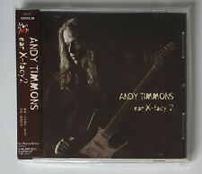 Andy Timmons ‎– Ear X-tacy 2  JAP CD OBI