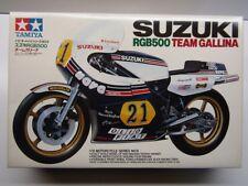 Tamiya Vintage 1:12 Scale Suzuki RGB500 Team Gallina GP Racer Model Kit New 1409
