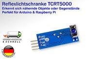 TCRT5000 Reflektierende Infrared IR Lichtschranke Optisch Sensor Rasp Switch Pi