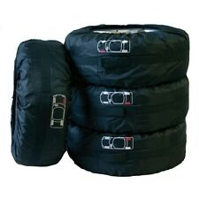 4Pcs/Set Spare Tyre Tire Cover Storage Bag with carrying handles Adjustable Size
