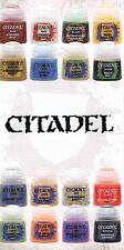 Citadel Base/ Layer/ Dry/ Glaze/ Texture, Farbe wählen 12ml (100ml=24,92€) *NEU*