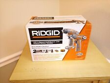 Ridgid R9000K 12V 2 speed drill/driver & impact driver Combo kit w/Batteries NEW