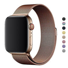 2 x Magnetic Metal Apple Watch Band iWatch 6 5 4 3 2 1 Strap 38/40mm 42/44mm