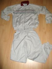 WORN ONCE BOYS YOUTHS AUTHENTIC FULL LACOSTE SILVERY GREY TRACKSUIT AGE 12-13-14