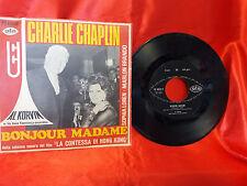 DISCO 45 giri -   AL KORVIN - CHARLIE CHAPLIN - BonJour Madame e This is my song