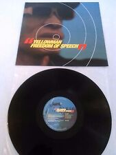 YELLOWMAN - FREEDOM OF SPEECH LP EX!!! ORIGINAL EURO JET STAR / SCORPIO BSCLP019