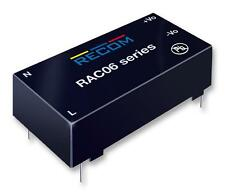Power Supplies - AC / DC Converters - AC/DC CONV 2O/P 6W +/-5V 0.6A